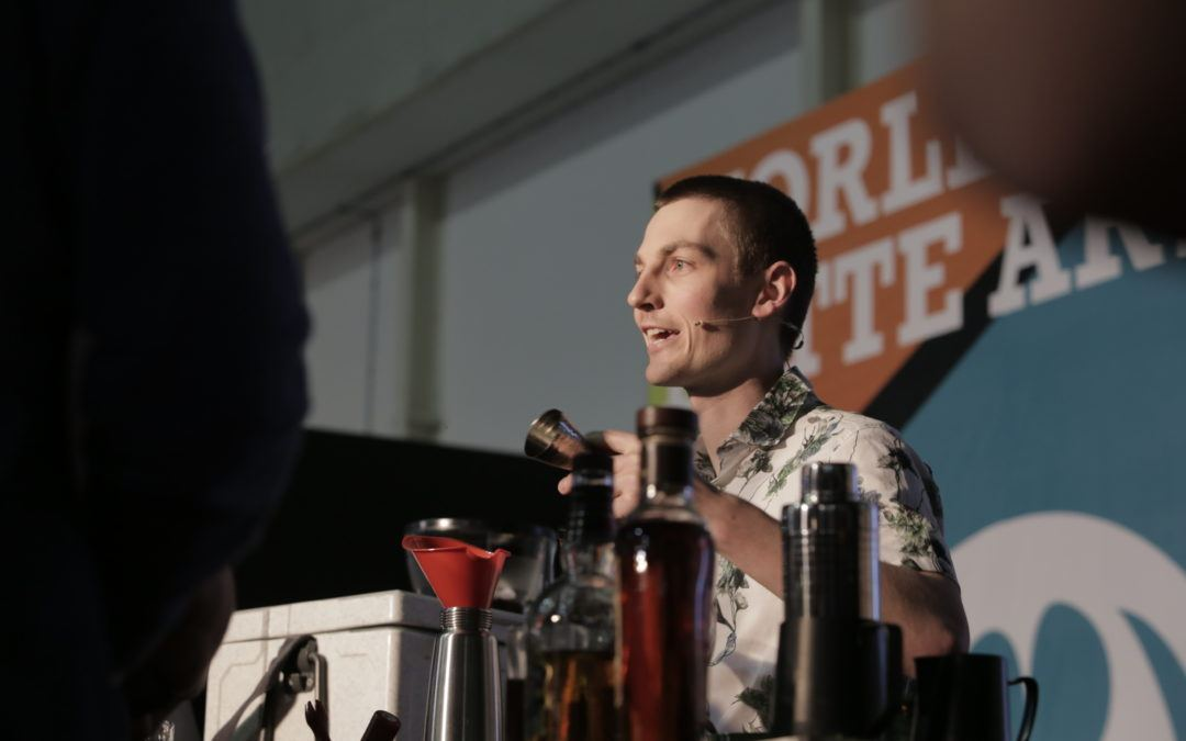 Danny Wilson places third in 2018 World Coffee in Good Spirits Championship