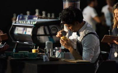 Shin Fukayama ranks fourth in the 2018 World Latte Art Championship