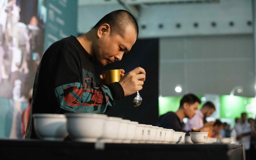 Yama Kim is the 2018 World Cup Tasters Champion