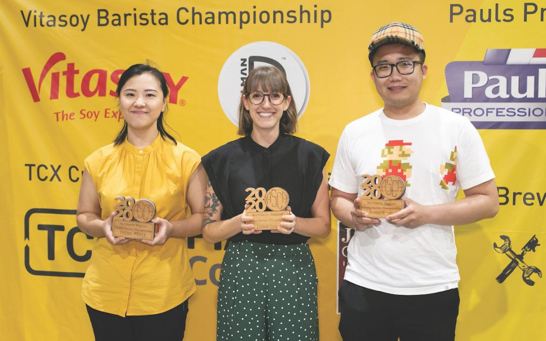 Tilly Sproule is the five-time ASCA Vitasoy Northern Region Barista Champion