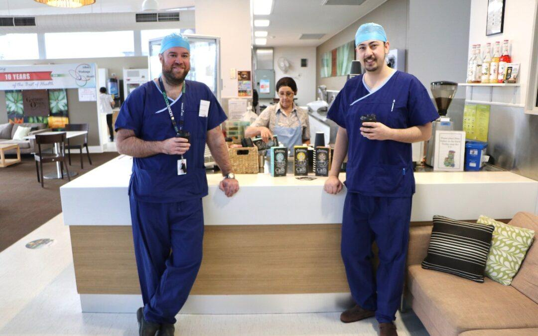 Vitasoy shouts coffee for staff at local hospital